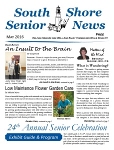 South Shore Senior News - May 2016 - COVER