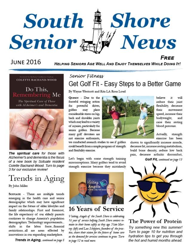 South Shore Senior News - June 2016 - Cover