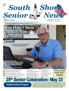 South Shore Senior News - May 2017 cover one for web edition