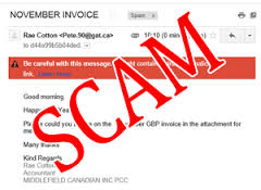 Invoice-scam