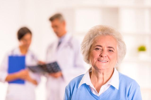 senior health photo